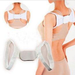Wholesale Men Women Posture Back Support Corrector Belt Band Feel Young Belt Brace Shoulder Braces Supports for Sport Safety