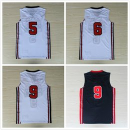 Olympics Basketball Jersey #5 #6 #9 Dream 1 Team Jerseys Free fast Shipping Size S - XXL, Accept Mix Order