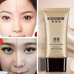 Wholesale 50g BB Cream Skin Care Isolation Moisturizing Perfect Cover Blemish Balm Smooth Beauty Women Sunscreen Face Makeup Whitening