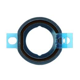 Wholesale-20pcs / серия Для IPad мини Главная Button Резиновая прокладка с наклейкой Запасная часть бесплатной доставкой