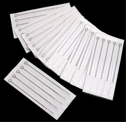 Wholesale Pro RL Pre made Sterilized Tattoo Needles Disposable Tattoo Gun Kits Supply round liner