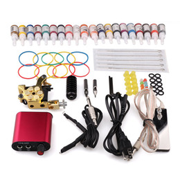 Wholesale TOP selling Complete Tattoo Set Tattoo Accessories for Liner and Shader Tattoo Supplies Kits sets W879