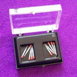 Wholesale 10pcs Dental Endo screw Fiber Posts Tips Drill Thread Glass Protaper Files mm Red Ring