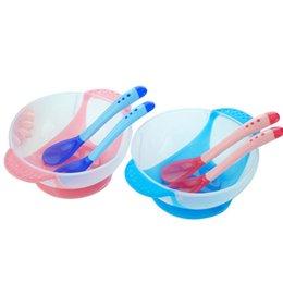 Wholesale 2014 New Arrival Linda Mami Gentle Sense Baby Feeding Dishes Utensils Set Children s Tableware Baby Feeding Accessories