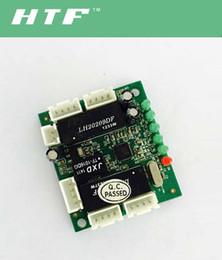 bordo de mini interruptor de circuito de diseño de Ethernet para el módulo de conmutador Ethernet bordo PCBA 10 / 100mbps 5 puertos