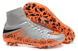 Nike soccer shoes cleats Discount Men Best Soccer Boots Nike Hypervenom II Phantom Premium FG Sneakers Athletic Sport Shoes
