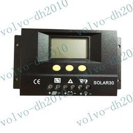llfa101 Envío libre 30A 12V / 24V Regulador solar Regulador de carga de la batería de seguridad CE Protección Certificar