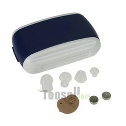 Wholesale Portable Mini sound voice amplifier K Hearing Aids Aid Audiphones Behind Ear Sound Voice Amplifier