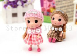 Wedding 12CM die Schal-Liebespuppen Nette Puppen für Mädchentelefonspielzeug-hängende Erst-Artpuppe Feiertagsgeschenke