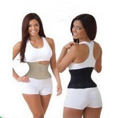 Wholesale Miss Belt Waist Training Belt Instant Hour Glass Shape Look Slimmer Fit Waist Girdle Cincher Tummy Body Shaper Fitness Slimming Belt opp bag