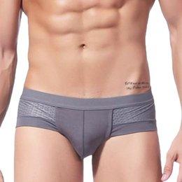 Wholesale New Arrival Sexy Underwear Mens Boxer Briefs Shorts Bulge Pouch Soft Underpants MD435