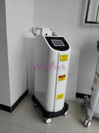 Wholesale DHL nm nm nm Vertical Q switch Yag Laser Tattoo Removal machine eyebrow removing beauty equipment
