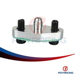 PQY RACING-Turbo Oil поток Впускной фланец Прокладка Комплект адаптера 4AN 4 Место T3 T3 / T4 T04 PQY-OFG31