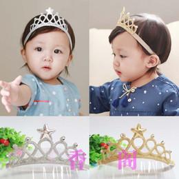 Wholesale Fashion Children Hair Accessories Kids Head Bands Infants Korean Summer Princess Crown Headbands For Girls Baby Hair Accessories C9943