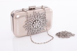 Wholesale Clutch metal chain shoulder wedding party clz0089