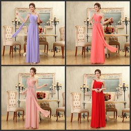 Wholesale Cheap Under Bridesmaid Dresses Sexy Designer Bridesmaids Coral Sage Purple Maid Of Honor Party Gowns Prom Dress Formal For Wedding