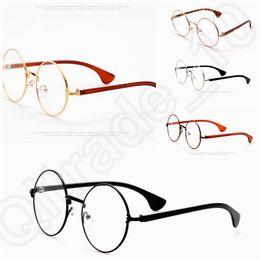 5 de design 500pcs nova Retro Vintage Harry Potter ouro Rodada de Óculos Óculos Óculos Limpar Lens LJJK62