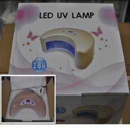 Wholesale 18 Watts Professional LED UV Gel Curing Lamp Uv Gel Lamp