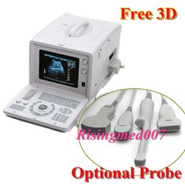 Wholesale RUS D Digital Portable Ultrasound Scanner Free D Software kits Optional Probe