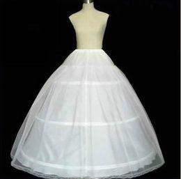 Wholesale 2016 hot sale new style White hoop Layer petticoat Crinoline Underskirt Gown Hot sale off HOOP Ball Gown BONE