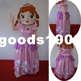 Wholesale EVA High quality Adult Size Sofia Mascot Costume Princess Cartoon Suit Sophia Dress XMAS Birthday the product are as the photo not black