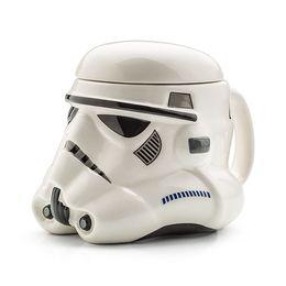 Wholesale Star Wars Mug Darth Vader Stormtrooper Helmet D Ceramic Coffee and Drink Mug with Removable Lid new