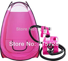 Wholesale sunless tanning machine and pop up tent