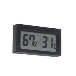 Горячий LCD Продажа цифровой Влажность в помещении термометр гигрометр метр портативный Метеостанция Беспроводной Барометр бесплатная доставка