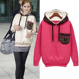 European and American trade of the original single autumn and winter female long,sleeved sweater hedging Korean Institute of wind loose hood