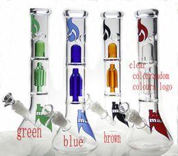 Nouveau design Bain en verre en verre avec bague en verre avec engrenage perc ont des couleurs de mélange (même que les images)