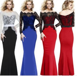Wholesale Sexy Lace Mermaid fishtail Bridal Dress Party Bridesmaid Dress hot best selling