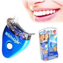 Wholesale Dropship Dental Tooth Teeth Cleaner Whiten Whitening Whitener System Whitelight Kit Set With Retail Package Factory Direct