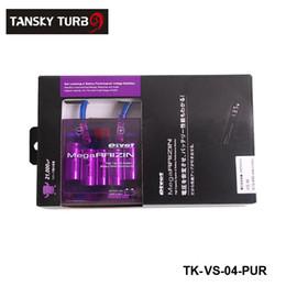 Танский - Сводные Мега RAIZIN автомобиль Вольт Стабилизатор / С 5 Провода Digisplay для универсального есть в наличии TK-VS-04-PUR