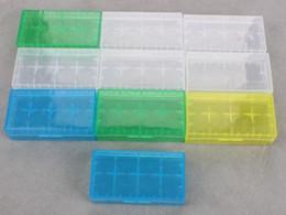 хранение кейс для хранения ящик аккумуляторной батареи пластиковые батареи 18650 контейнер пакет 2 * 18650,4 * 18350 или 4 * 16340 для Ecig механических мод батареи