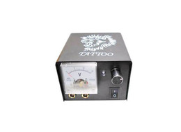 Wholesale Newest Gray New Pro Great Aluminum Alloy Lion head Tattoo Power Meter