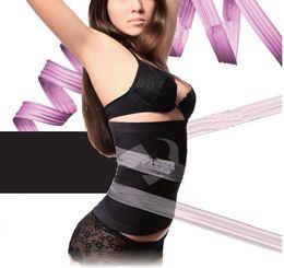 Wholesale 5 Waist Trainers Slim Belts For Women Hot Slimming Body Shapers Girdles Tummy Control Abdomen Fat Burning Cinchers d016