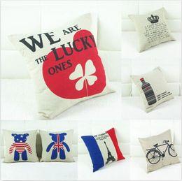wholesale new european vintage cotton linen cushion cover home decor decor pillow case from european - Wholesale Home Decor Suppliers