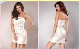 Wholesale Prom Dresses Cocktail Dresses Taffeta Homecoming Dresses Fast Delivery New Arrival