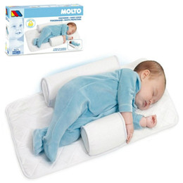 Wholesale New Baby Infant Newborn Sleep positioner Anti Roll Pillow With Sheet Cover