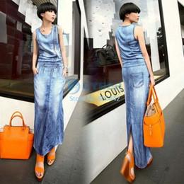 Maxi dress quality jeans