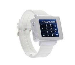 Unlocked 1.8 '' LCD Touch Screen Wrist Cell Mobile Watch Watch GSM MP3 Bluetooth