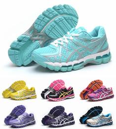 Nuevo diseño Zapatillas Asics Gel-Kayano 20 T3N2N-32900190 Zapatillas de running para mujer, ligero alto respaldo de las zapatillas de deporte transpirable Eur 36-40