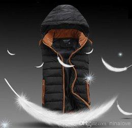 Wholesale Korean version of the new men s hooded down vest cotton