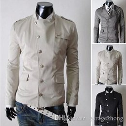 Wholesale 2014 autumn winter new fashion America style men s causal jacket clothing manteau menswear coat man jaket colours size M XXL