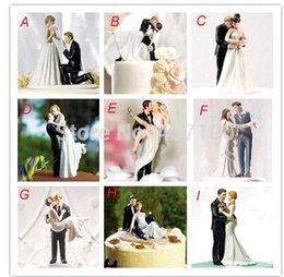 Wholesale 2015 NEW True Romance Wedding favor and decoration Figurine Resin Wedding Cake Toppers Wedding Decoration Bridal Party Supplies MYF46