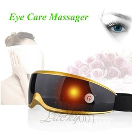 Wholesale NEW Selling Luxury Rechargeable Electric Eye Massage Magnetic Massage Modes Health Care Massager Nice High Quality