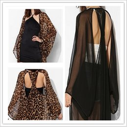 Wholesale European Style Personality back wings big hollow out transparent kimono coat Sun protection clothes