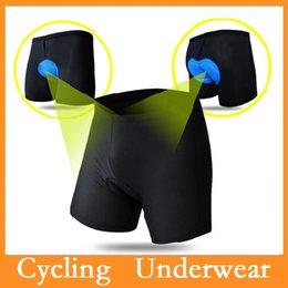 online shopping WOLFBIKE Men Cycling Shorts D Gel Padded MTB Shorts Bike Downhill Underwear Sport Bicycle Shorts Clothing Via DHL