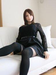 Japanische reale Liebes-Puppe-erwachsene männliche Geschlecht spielt volle Silikon-Geschlechts-Puppe-süße Sprachrealistische Geschlechts-Puppen Heißer Verkauf --086B41059