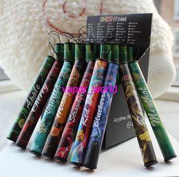 E ShiSha Pen Hookah Cigarette électronique jetable Pen Cigar Jus de fruits E Cig Stick Temps Shisha 500 Puffs Colorful 35 Saveurs